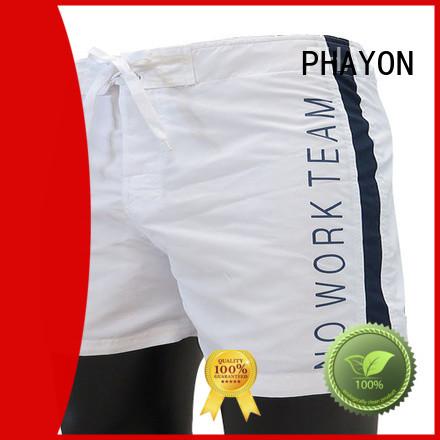 PHAYON prints beach shorts for guys board shorts for beach