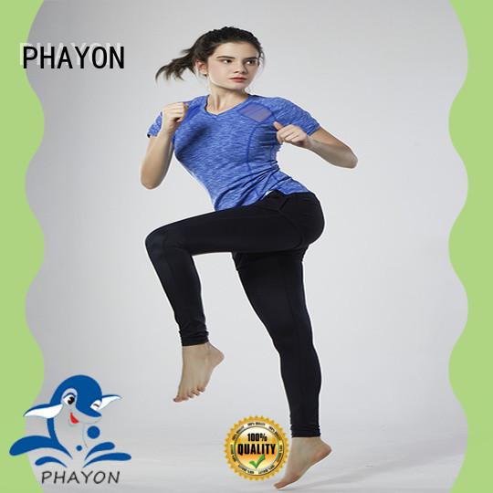 custom sportswear yoga fitness wear for sports PHAYON