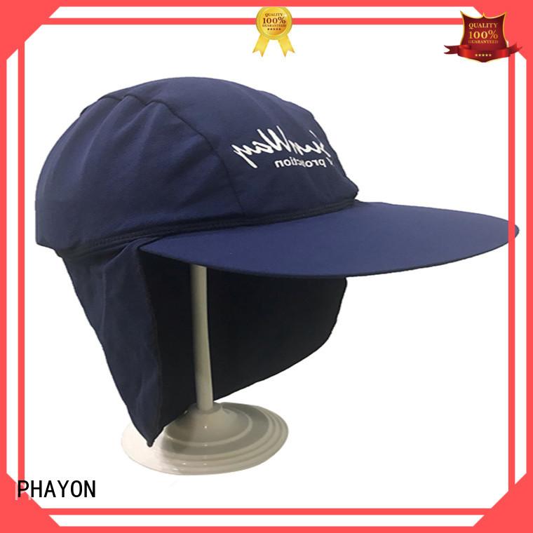 PHAYON lycra sun visor hat supplier for sport