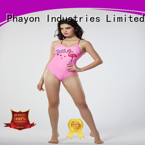 PHAYON red wholesale ladies swimwear good selling for swimming pool