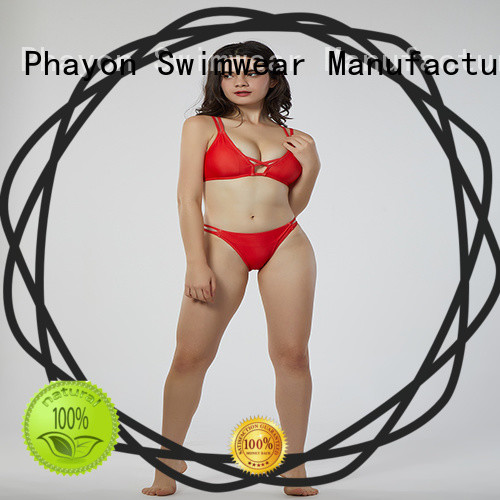 PHAYON bikini suit with back hollow for holiday