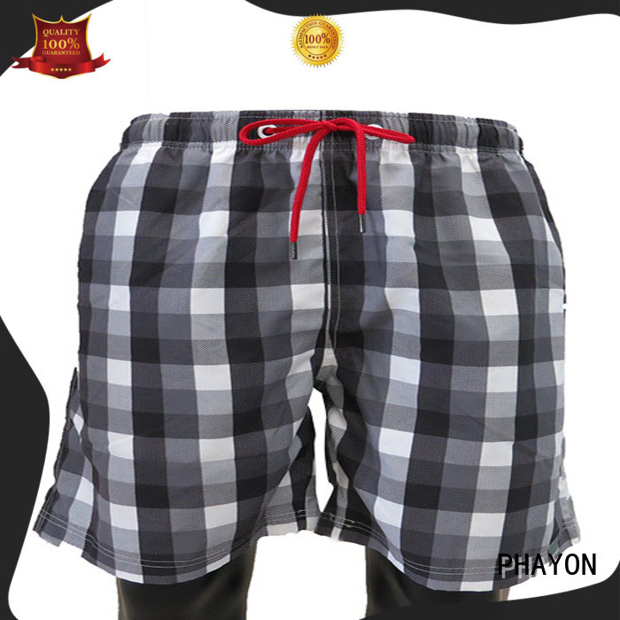 PHAYON beach shorts with waist elastic design for swimming pool