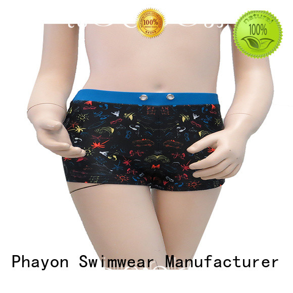 PHAYON custom made swimsuits boxer trunks for beach
