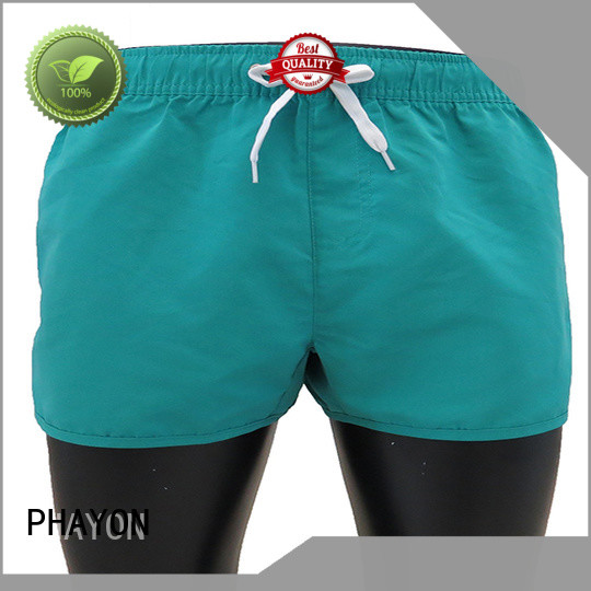 PHAYON mens clothing sale surf beachwear for swimming pool