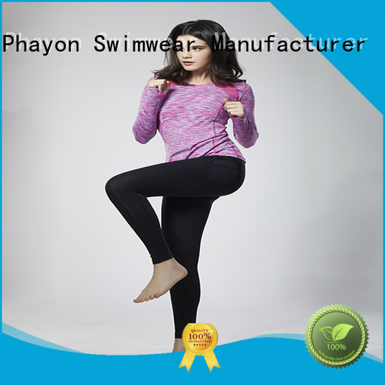PHAYON wholesale cycling clothing brands yoga fitness wear for outdoor activity