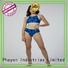 sport ladies tankini swimwear with padding for beach