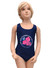2019 New Design Children Swimwear One Piece Girls Swimsuit