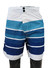 Traditional style striped short beach pants for men