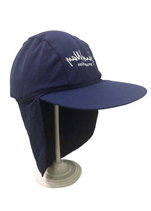 China manufacturer Children's sun hat sublimation printed lycra swim cap sun safe bucket hat