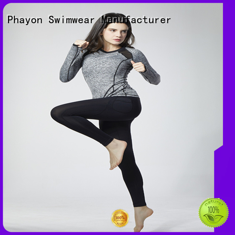 comfortable active sportswear good selling for outdoor activity PHAYON