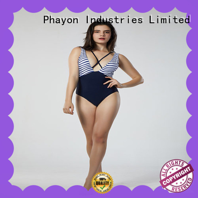 PHAYON colorful bathing suits custom hot sale for swimming pool