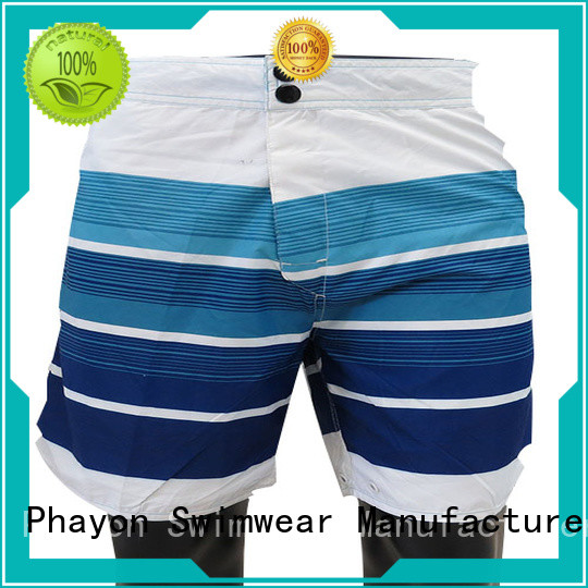 PHAYON quick dry men clothing wholesale factory for swimming pool