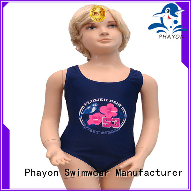 PHAYON girls swimsuit bathing suit for swimming pool
