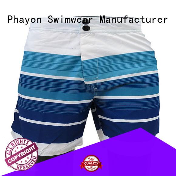 PHAYON mens boardshorts sale surf beachwear for swimming pool