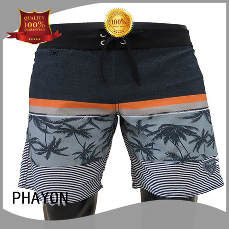 PHAYON quick dry mens board shorts supplier for swimming pool