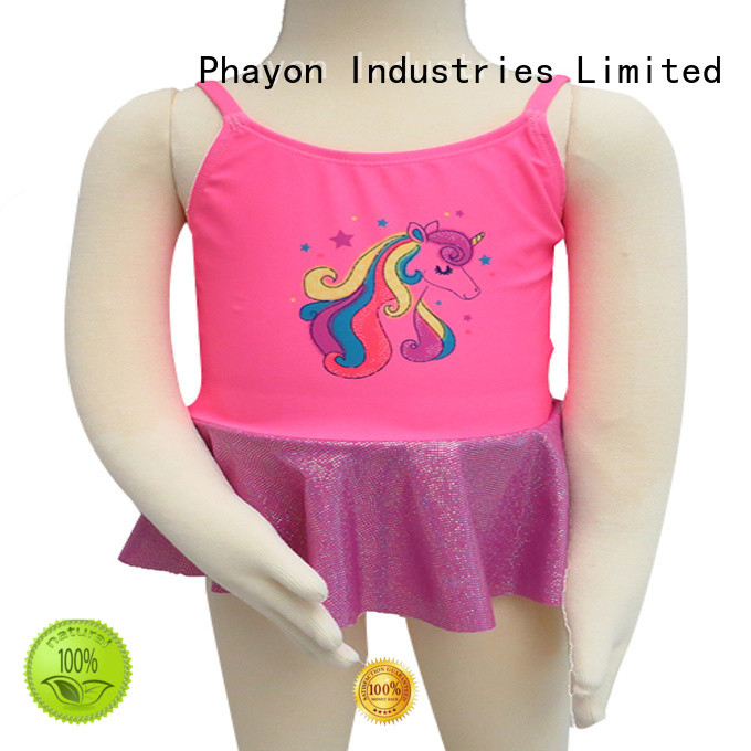PHAYON toddler girl swimsuits supplier for beach