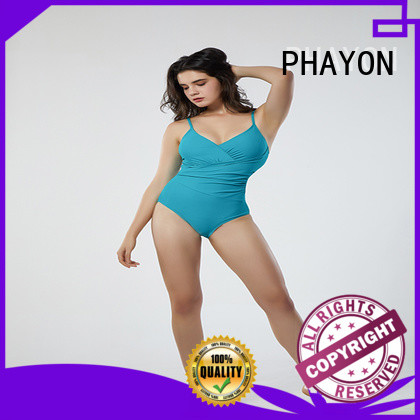 PHAYON striped bikini for women with padding for holiday