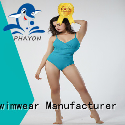 PHAYON bathing suits custom with back hollow for swimming pool