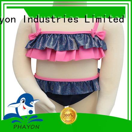 PHAYON beautiful little girl bikini swimwear dress for beach