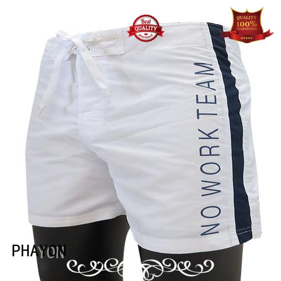 PHAYON beach shorts for guys board shorts for beach