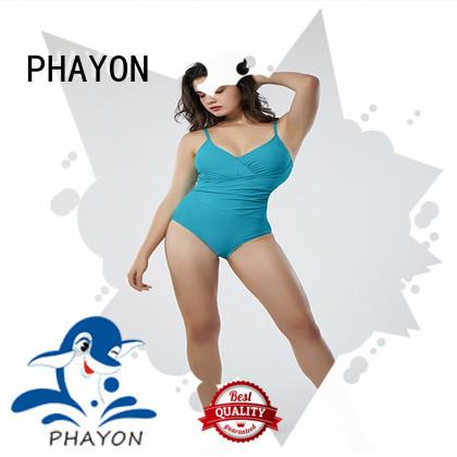 PHAYON ruched bikinis swimwear with padding for holiday