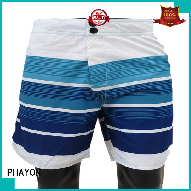 PHAYON five cent beach shorts with waist elastic design for holiday