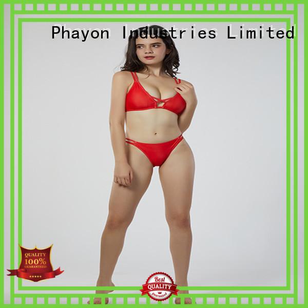 PHAYON double fabric bikini suit with padding for beach