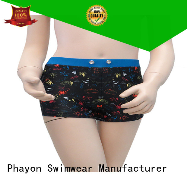 PHAYON wholesale swimwear suppliers boxer trunks for holiday