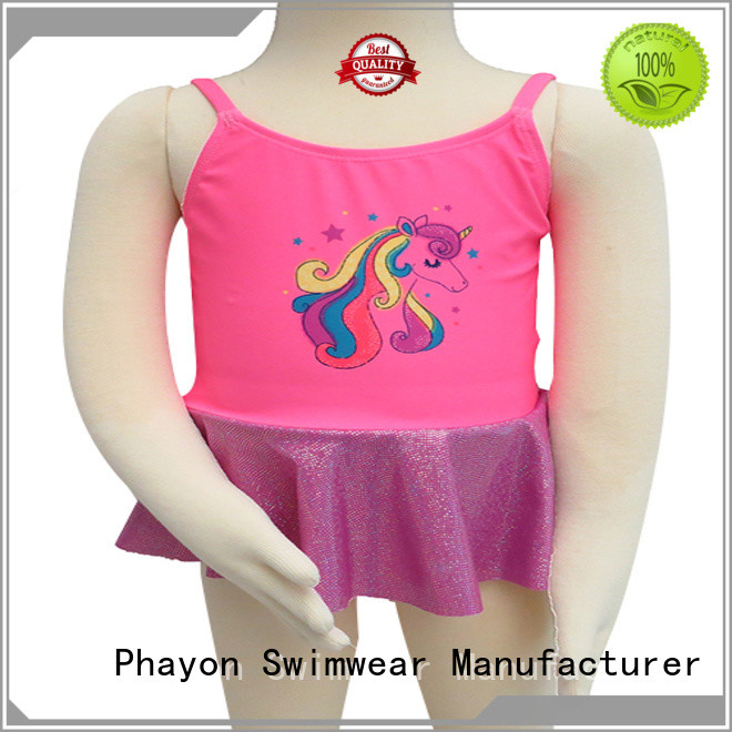 PHAYON girls swimsuit factory for swimming pool