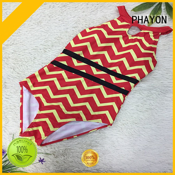 PHAYON ladies bathing suits with back hollow for swimming pool