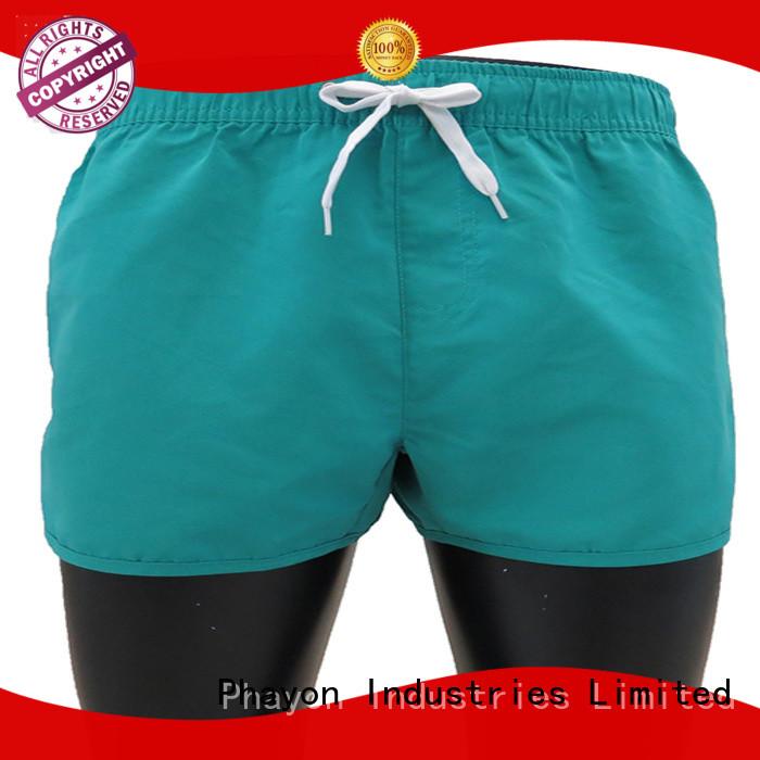 PHAYON white mens boardshorts sale pants for swimming pool