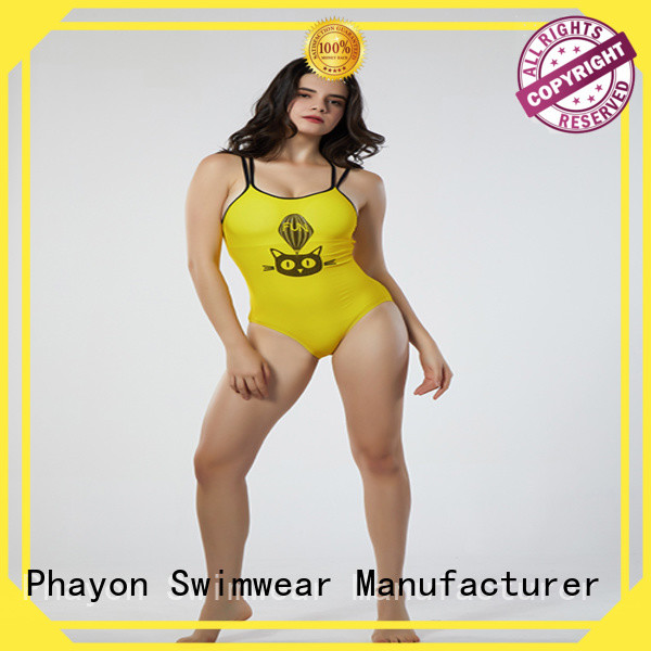 PHAYON ripple womens tankini swimsuits manufacturer for swimming pool