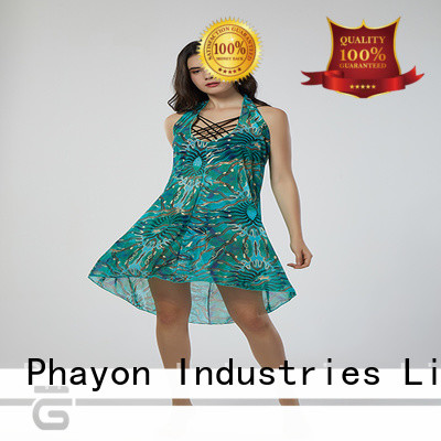 PHAYON chiffon beachwear cover ups kaftan for swimming pool
