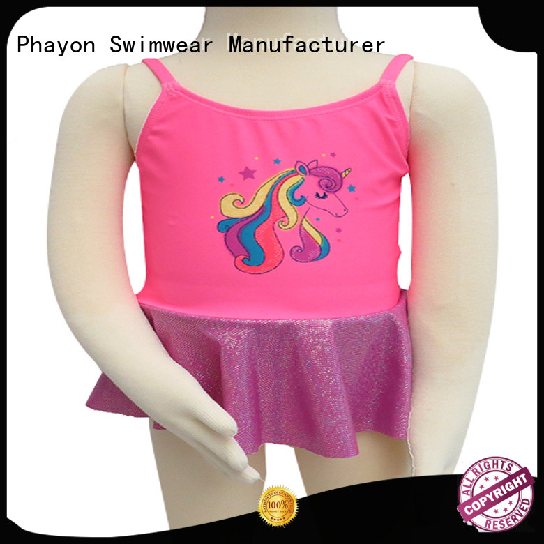 PHAYON children girls swimwear sale dress for holiday