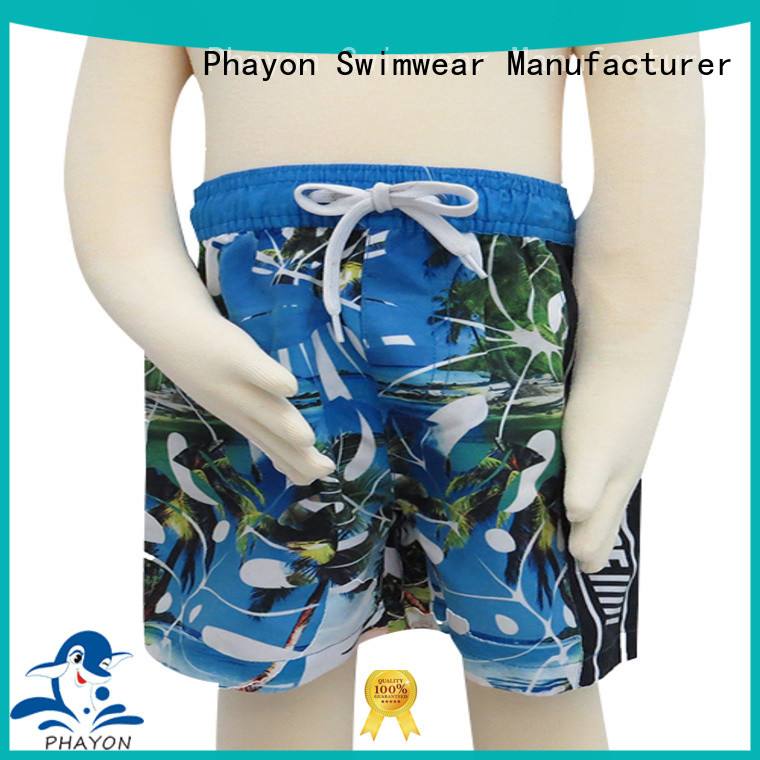top boys board shorts factory for swimming pool
