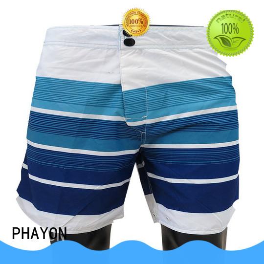 PHAYON color beach shorts men pants for holiday