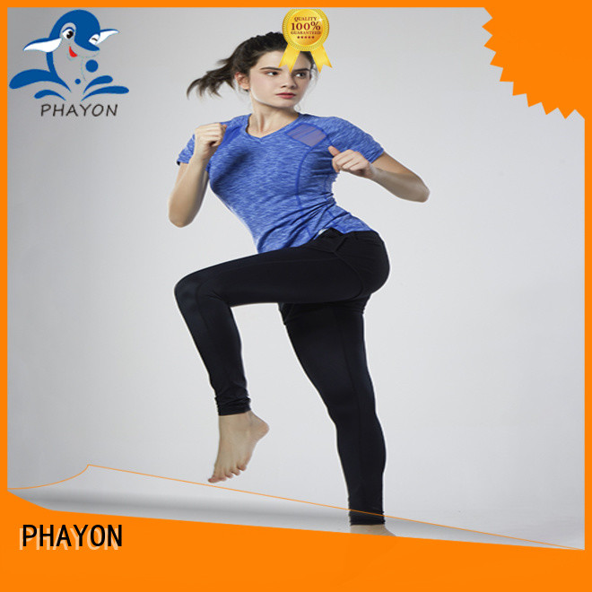 PHAYON cycling jersey yoga fitness wear for outdoor activity