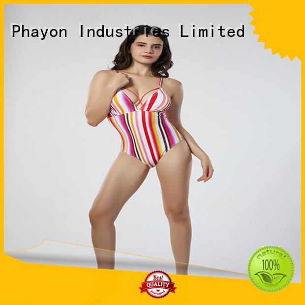 PHAYON bikinis swimwear with back hollow for beach