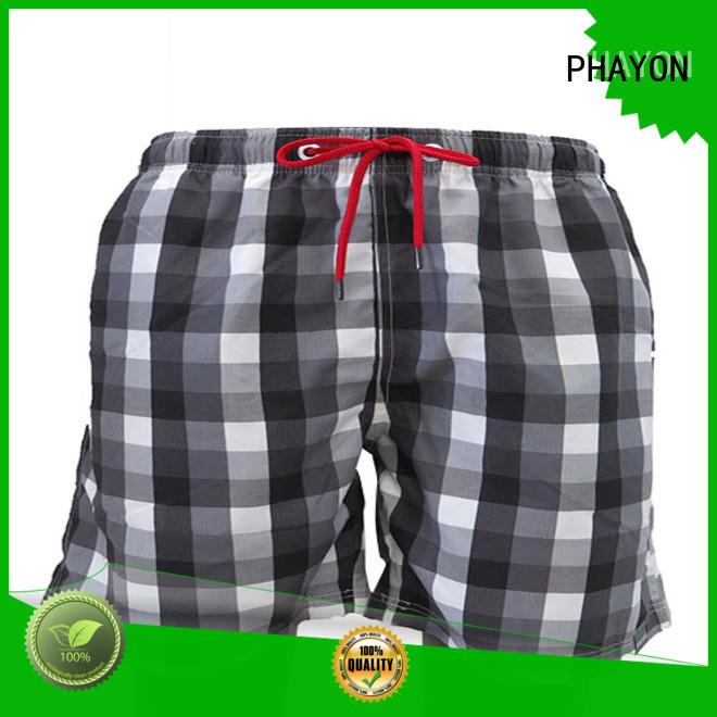 PHAYON stripes beach shorts surf beachwear for beach
