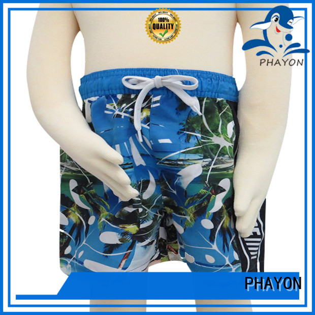 printed boys clothing with customized service for swimming pool
