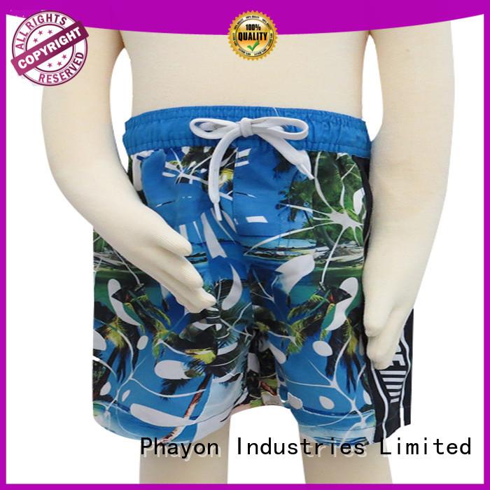 PHAYON comfortable boys swimwear manufacturer for sale