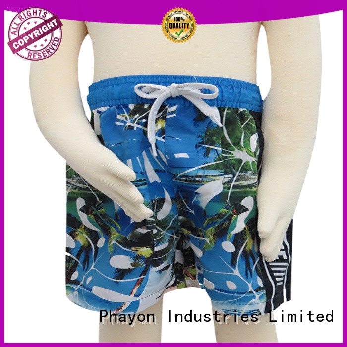 PHAYON comfortable boys swimwear manufacturer for sale