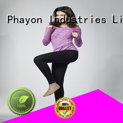 PHAYON superior quality fitness wear jersey for outdoor activity