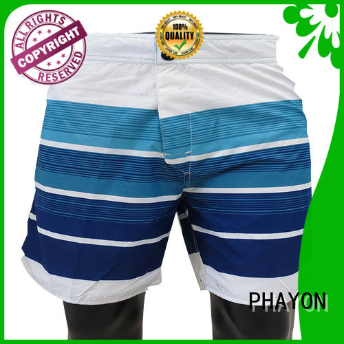 PHAYON solid mens boardshorts sale factory for beach