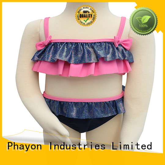 butterfly knot little girl clothes factory for beach