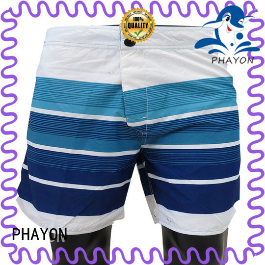 PHAYON men clothing wholesale company for swimming pool