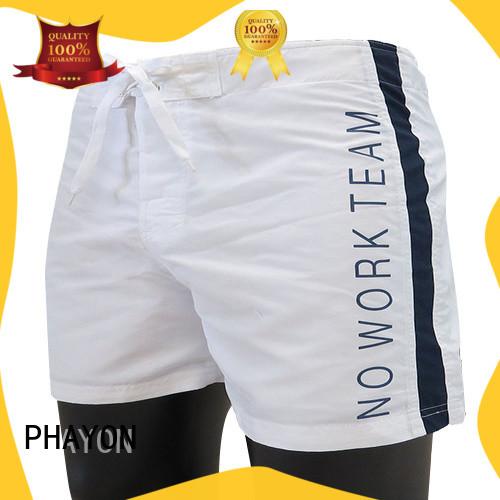 PHAYON mens board shorts supplier for swimming pool