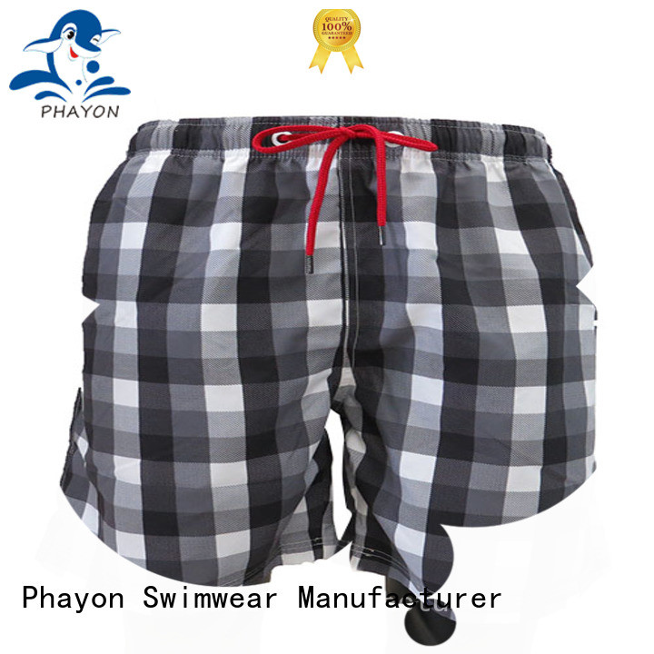 PHAYON traditional style beach shorts surf beachwear for swimming pool