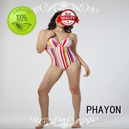PHAYON ruched ladies bathing suits tankini for beach