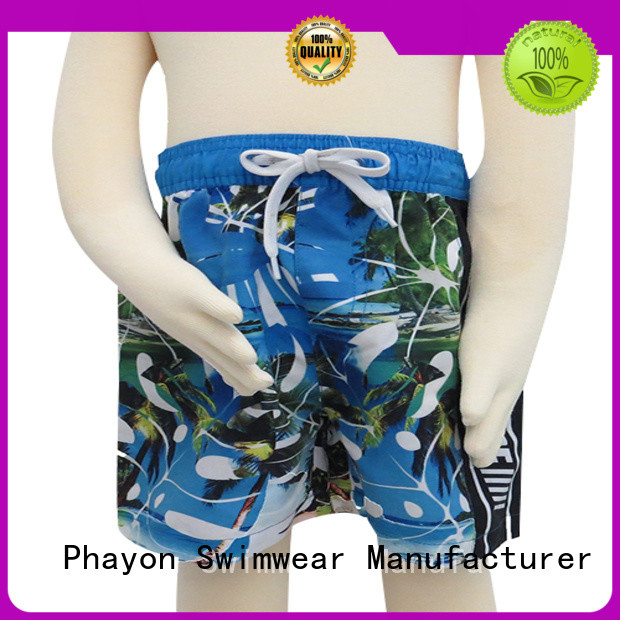 PHAYON boys swimwear manufacturer for holiday